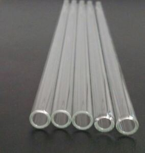 image is loading borosilicate glass tubing 10mm od 8mm id 1mm - Glass Tubing