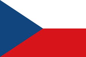 4-adhesivos-para-el-coche-o-la-moto-Republica-Checa-Bandera-Sticker-Pegatina-8cm
