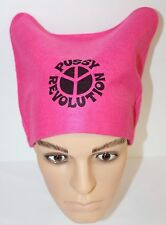 Pussy hat, Women's March hat, Feminist hat, Pink hat