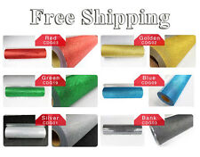 Free Ship 19x6yards Glitter Heat Transfer Vinyl 6colors T Shirt Pu Transfer
