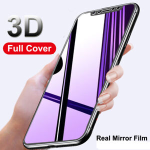 9H-3D-Mirror-Full-Cover-Tempered-Glass-Film-Screen-Protector-for-iPhone-X-8-Plus