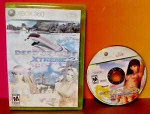 Dead-or-Alive-Xtreme-2-Microsoft-Xbox-360-2006-Rare-Game-Tecmo