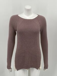 Ann-Taylor-LOFT-Women-039-s-Pullover-Sweater-XS-Merino-Wool-Multicolor-Knit-Long-Sle