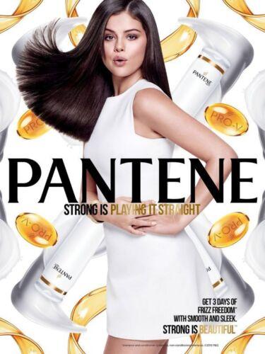 SELENA GOMEZ PANTENE Poster Pop Celebrity Room Art Wall Print 2x3 Feet 2