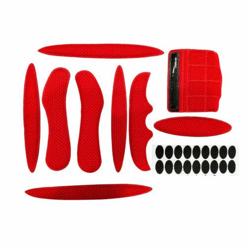 Sponge Sealed Replacement Foam Pads Set Helmet Inner Padding Kit Protection Pad
