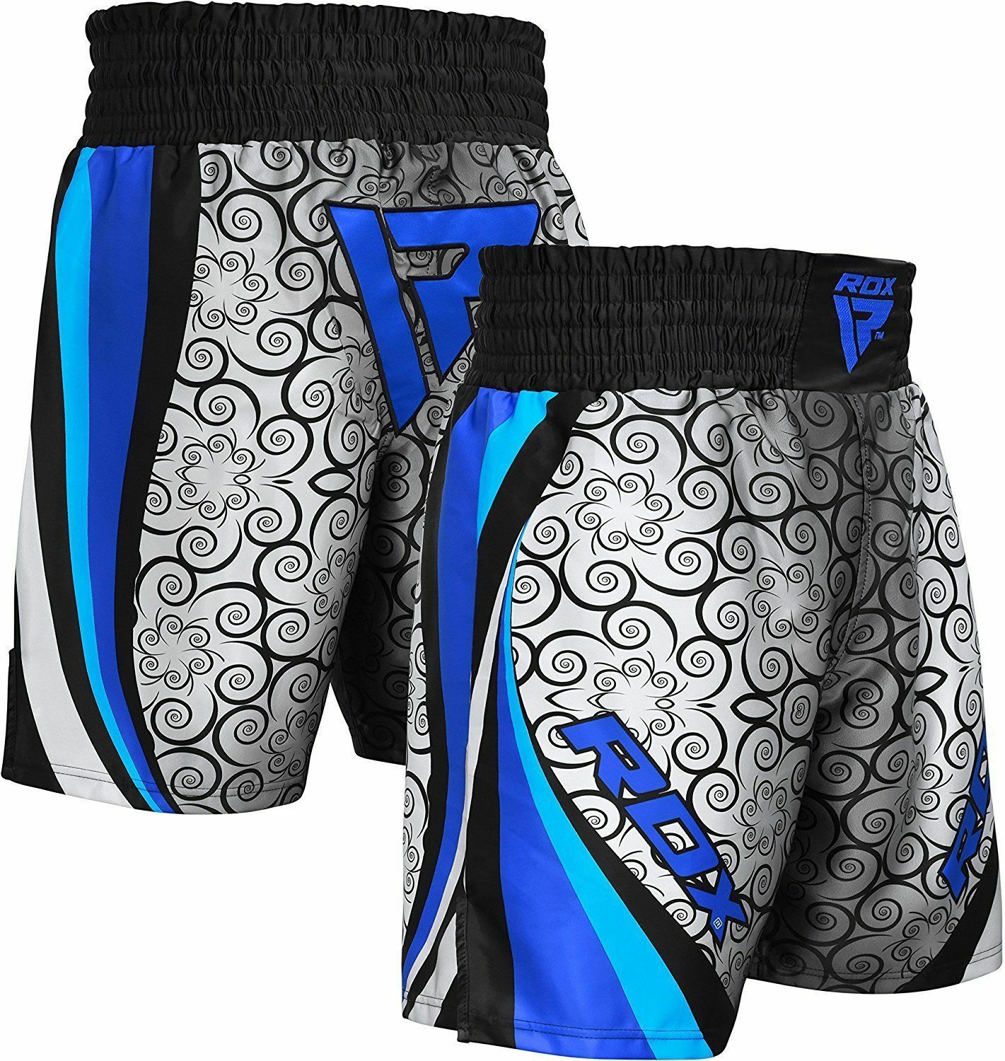 RDX MMA Boxing Shorts Martial Arts Gym Wear Grappling Muay Thai Cage Fighting US