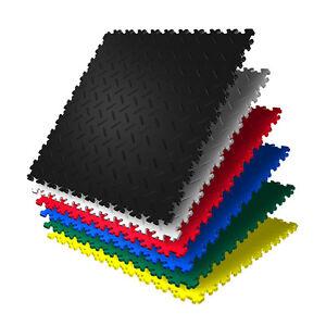 klickfliesen kunststoff pvc fliesen garagenboden. Black Bedroom Furniture Sets. Home Design Ideas