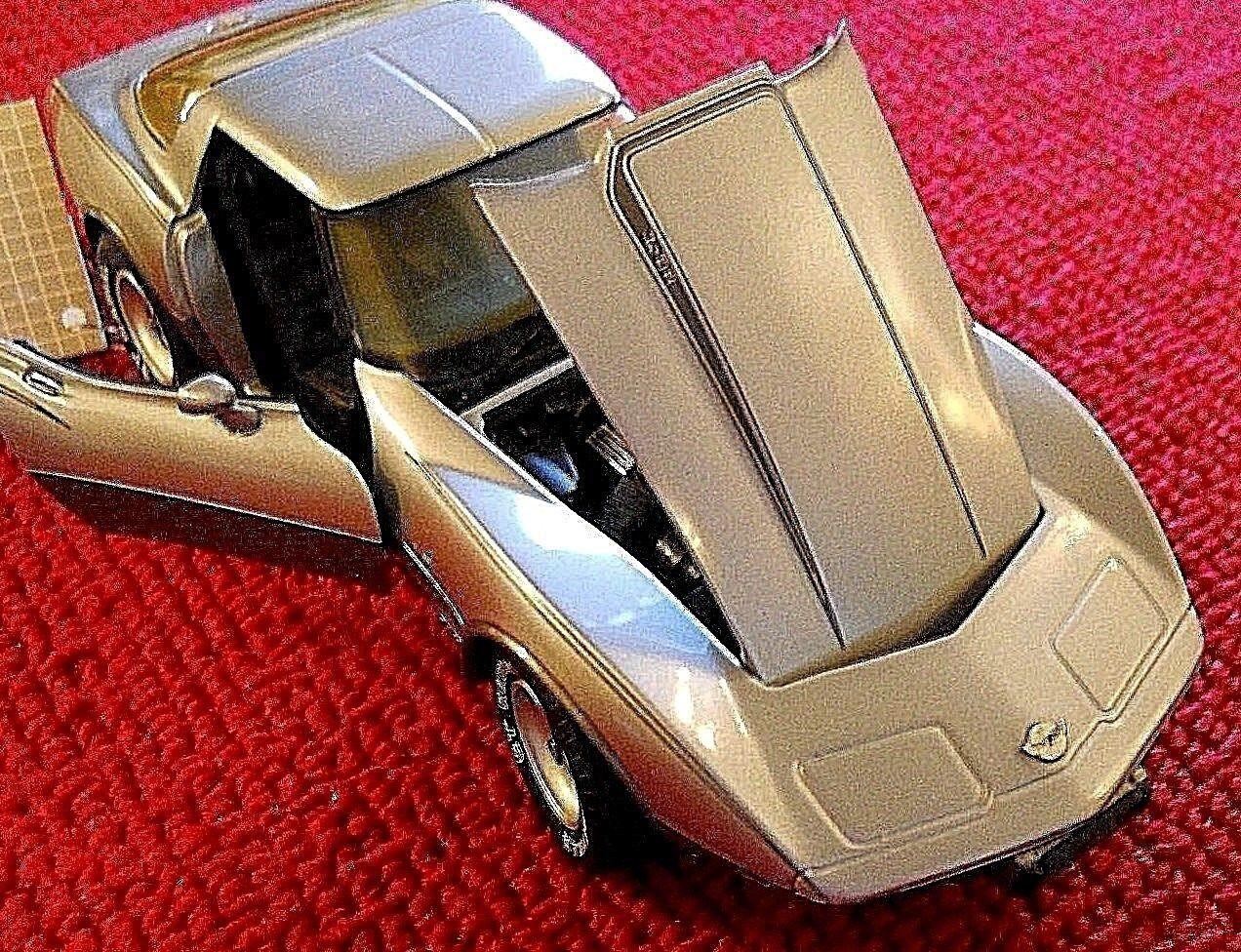 Franklin Mint 1978 Chevrolet Corvette 25TH Aniversario plata 1 24 Escala