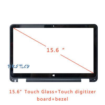 15.6/'/' 860899-001 Touch Screen Digitizer Glass Bezel For HP ENVY X360 15-W267CL