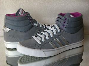 Details zu adidas Neo PARK ST MID W Sneakers Wildleder Schuhe Grau Lila zum Top Preis
