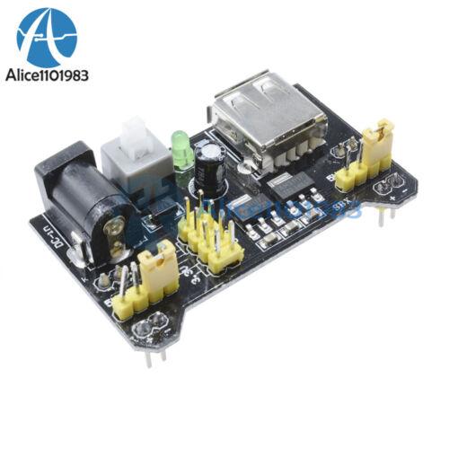 10PCS MB102 Breadboard Power Supply Module 3.3V 5V For Arduino  Solderless