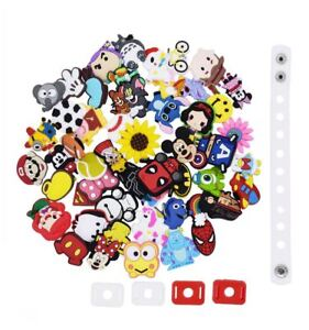 803b70549360a1 Image is loading US-STOCK-50Pcs-Different-Shoes-Charms-Decorations-Fit-