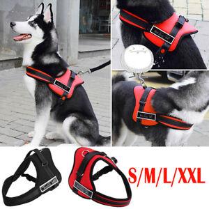 Brustgeschirr-Hundegeschirr-Softgeschirr-Geschirr-fuer-Hunde-S-XL-DE