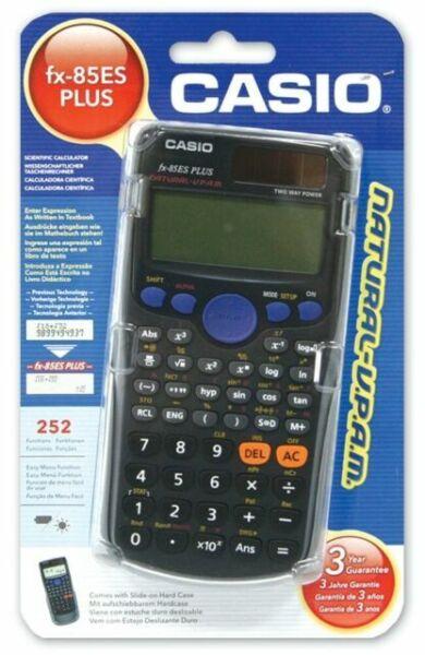 Casio FX-85ES PLUS Scientific Calculator NATURAL-VPAM Display 252 Functions FX85
