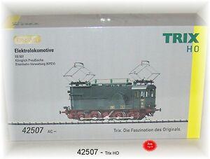 Trix 42507 Electric Locomotive Eg 507 of the Kpev Fine Arts Mfx AC # New Boxed #