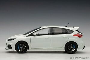 Ford-Focus-Rs-Gele-Blanc-2016-Composite-1-18-Autoart-72951