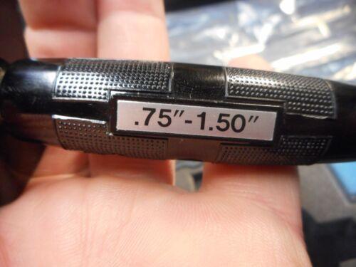 """NEW IN THE BOX Scherr Tumico 50-0135-05 Bore Gage .75/""""-1.5/"""" .0001/"""" 0-5-0 NEW!!!"""