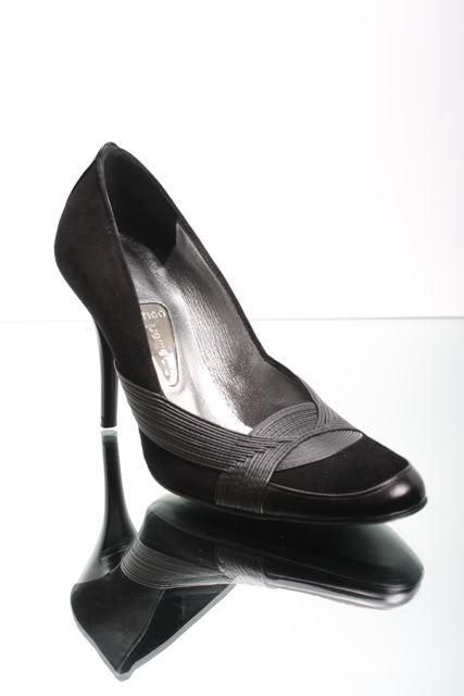 vendita online sconto prezzo basso Gibellieri 131 nero Suede Stiletto Stiletto Stiletto Pumps 36   US 6  all'ingrosso a buon mercato