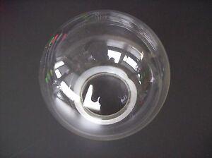 Glas lampenschirm ersatzglas kugel transparent e lochmaß fassung