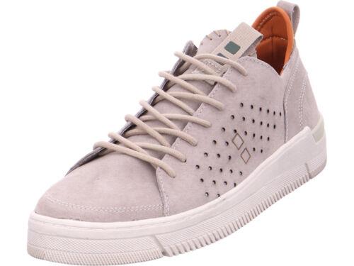 Mundart Herren Manila Schnürschuh Halbschuh sportlich Sneaker grau