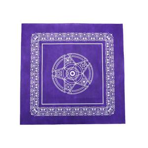 1pc-49-49cm-Tarot-game-tablecloth-non-woven-material-board-game-purple-color-ecA