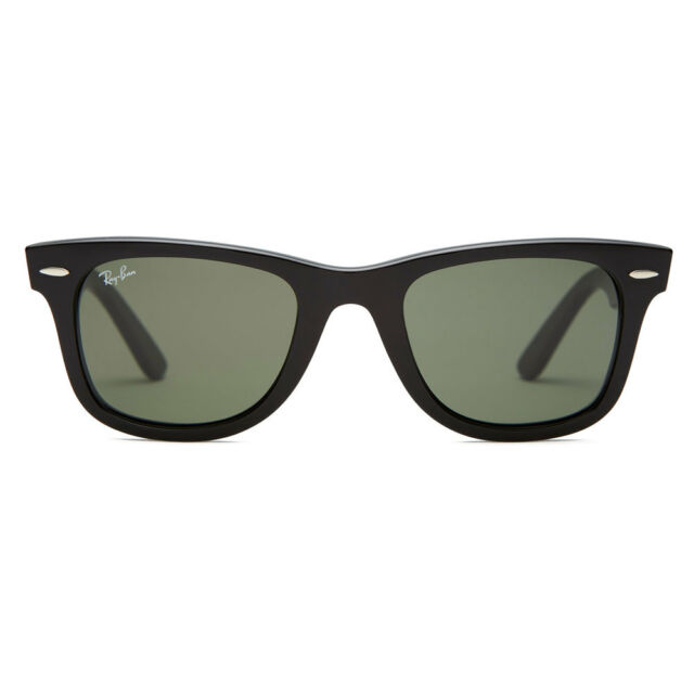 8884c3b4df5 Ray-Ban RB2140 901 Original Wayfarer Classic Sunglasses Black Green Classic  54mm