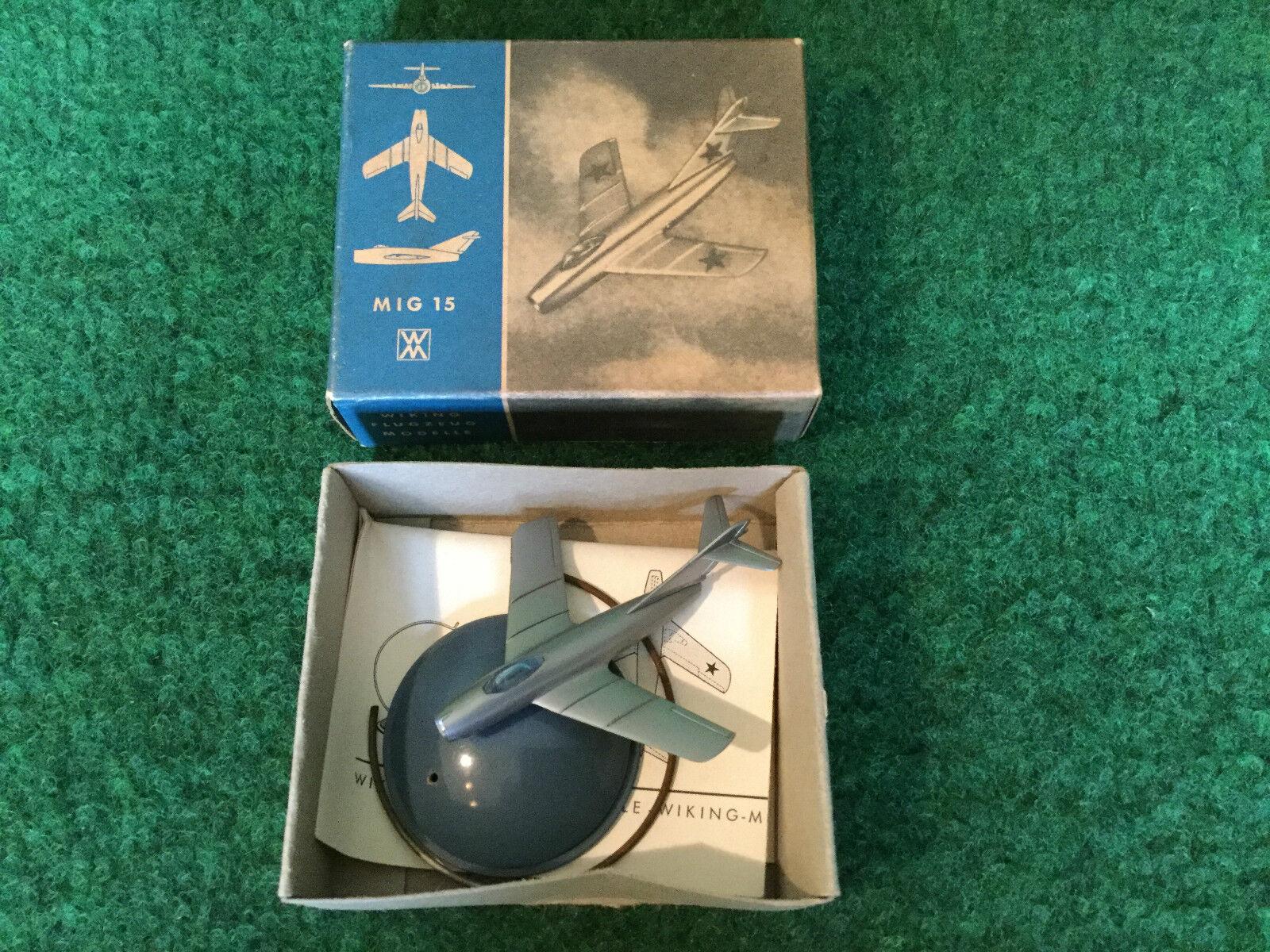 Wiking plástico avión mig 15 modelos OVP