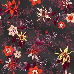 Baumwollstoffe-fuer-Kimono-Kleid-Cute-Floral-von-der-Werft-44-034-breit-gedruckt