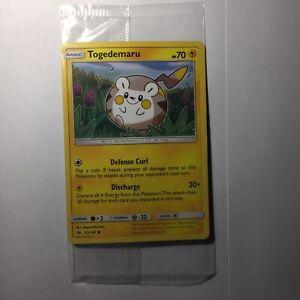 Pokemon-togedemaru-53-149-gemeinsame-M-Karte-Sun-amp-Moon-NEU-in-versiegelter-Polybeutel