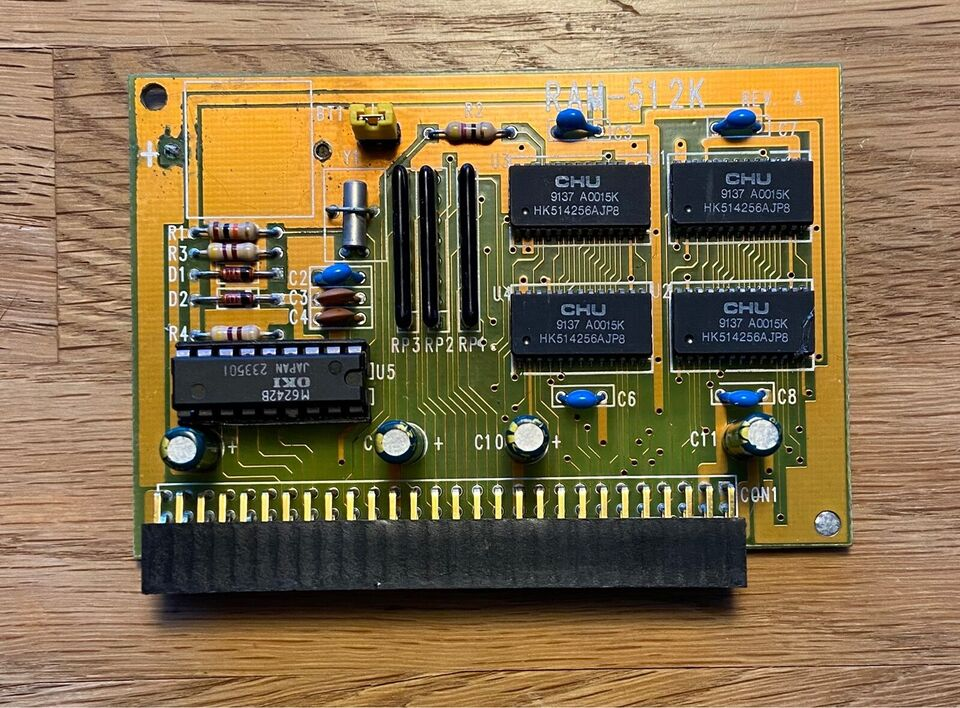 Ram udvidelse til Amiga 500, Amiga 500
