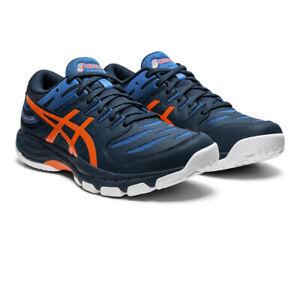 Asics Homme Gel-Beyond 6 Intérieur Cour Chaussures Bleu Marine Sports Squash Badminton
