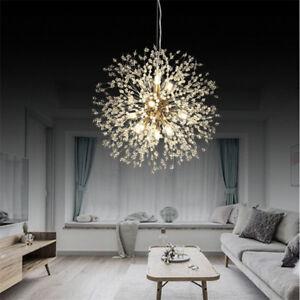 Details About Modern Led Chandelier Pendant Creative Dandelion Lamp Ceiling Lighting Lights