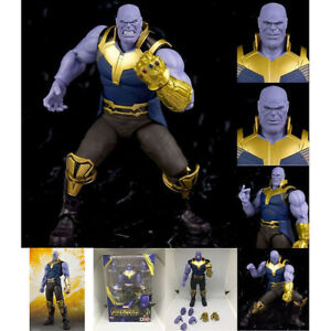S-H-Figuarts-SHF-Marvel-Avengers-Infinity-War-Thanos-Action-Figure-Toy-6-034-Boxed