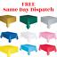 miniature 1 - Plastic-Tablecovers-Table-Housse-en-tissu-Parti-Catering-evenements-vaisselle-54-034-X72-034
