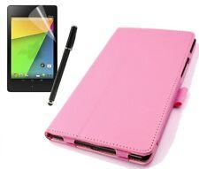 Schutzhülle f Asus Google Nexus 7 II (2013) Kunstleder Tasche Case Cover rosa