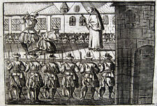 Hinrichtung J.A.Stadler Toggenburger Schwyz 1708 St.Gallen Schafott Execution