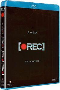 SAGA REC BLU RAY COMPLETA REC 1 REC 2 REC 3 REC 4 NUEVO ( SIN ABRIR )