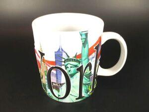 NEW York in rilievo tazza di caffè bicchieri, souvenir tazza, Statua della Libertà, 500 ML!!