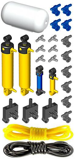 technic,switch,air,tank,valve,cylinder,compressor Lego Mini Pneumatic PUMP