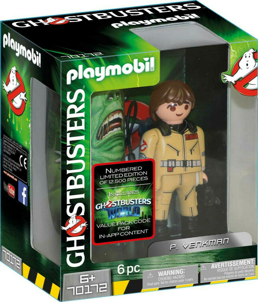 Playmobil Ghostbusters 70172 Limited Edition P.Venkman