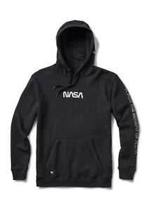 Details about Vans x NASA Hoodie Black Space Voyager Collab Pullover - SIZE  XS - SOLD OUT