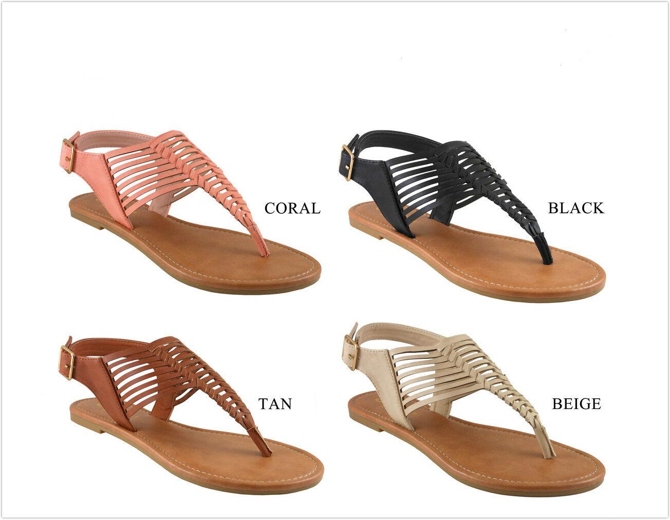 Brand New Women's Fashion - Strips Sandal Shoes Size 6 - Fashion 10 dee2cf