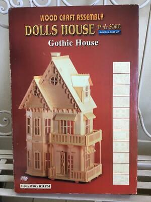 # Ghost Legno 1:12 per Casa Delle Bambole Nuovo Dolls House 7219 Nero Sedia