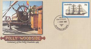 (13903) Australie Entiers Postaux Fdc Plly Woodside 7 Novembre 1985-afficher Le Titre D'origine