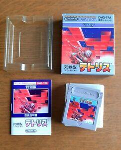 Jeu Console Nintendo Gameboy import complet boite Jap : TETRIS - DMG TRA -  NTSC
