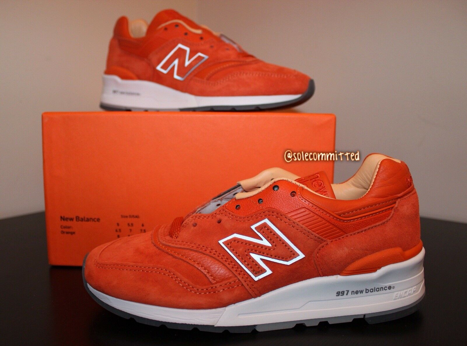 New Balnce 997 Luxary Goods US5 Size5 Special Box Rare BNIB DS