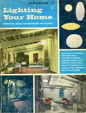 Various Contributors of Sunset Magazine & Publishing LIGHTING YOUR HOME 1967 Pap
