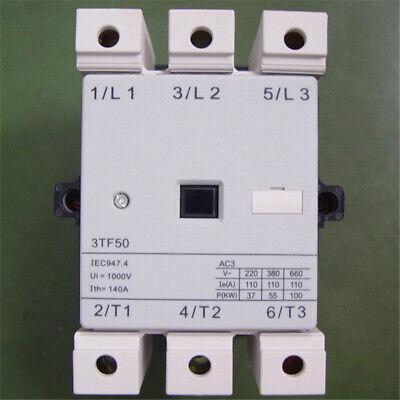New Siemens AC contactor 3TF50 22-0X 3TF5022-0X AC110V 110A One year warranty