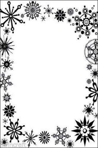 Crafts Too A6 Embossing Folder FROST FRAME - CTFD4030