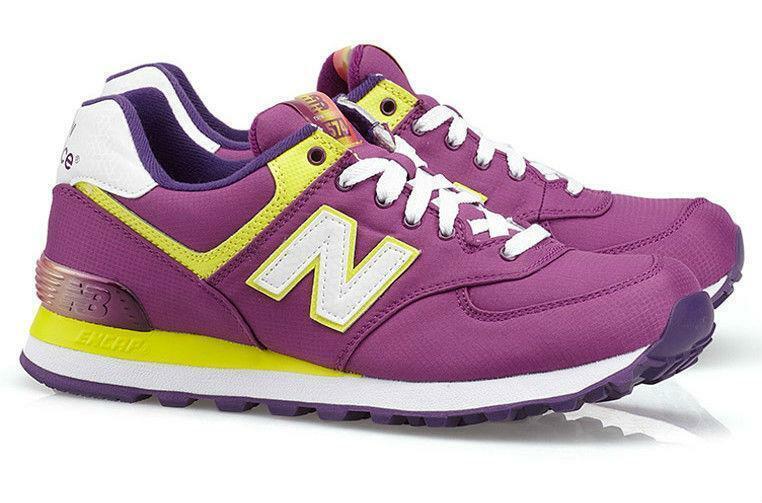 Mujer New Balance 574 púrpura Zapatillas Wl574app